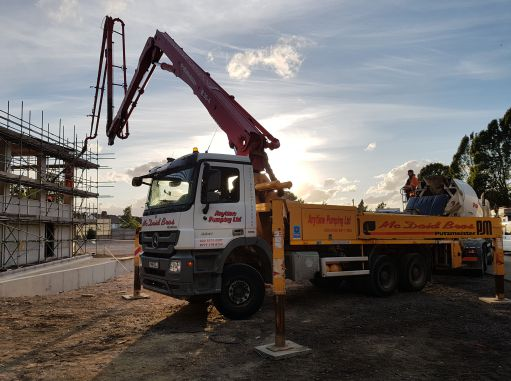 Concrete Boom Pump Hire