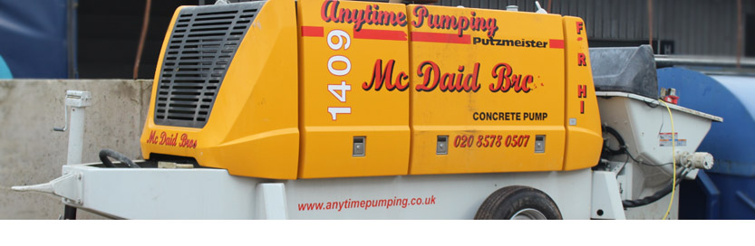 Concrete Pump Hire London & UK